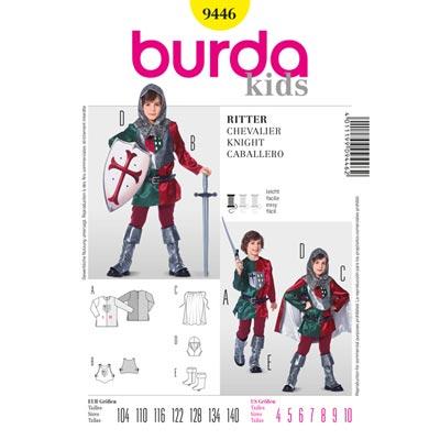 Ritter, Burda 9446 | 104 - 140