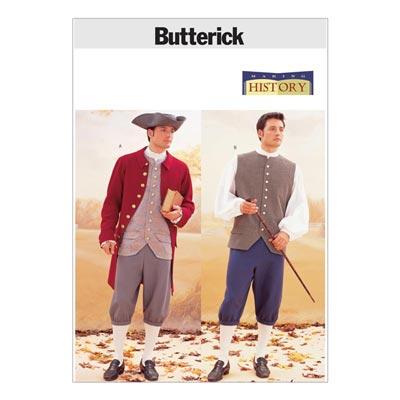 Historisches Kostüm, Butterick 3072 | 48 - 52