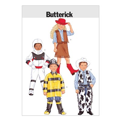 Kinderkostüme, Butterick 3244 | 122 - 134