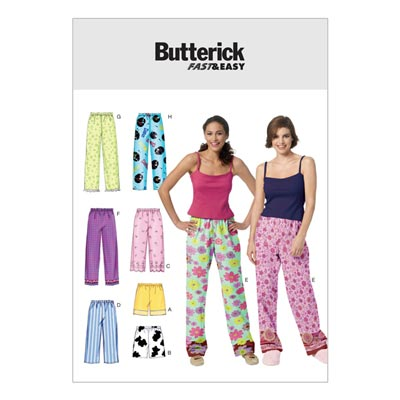 Nachtwäsche, Butterick 3314 | 42 - 48