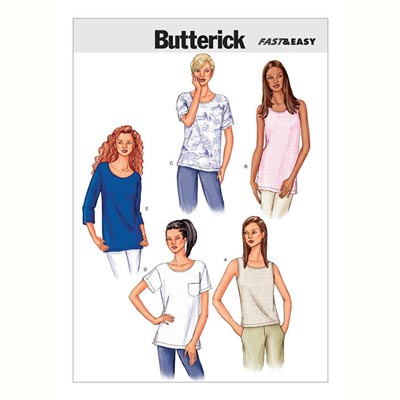 Top / Shirt, BUTTERICK B3383