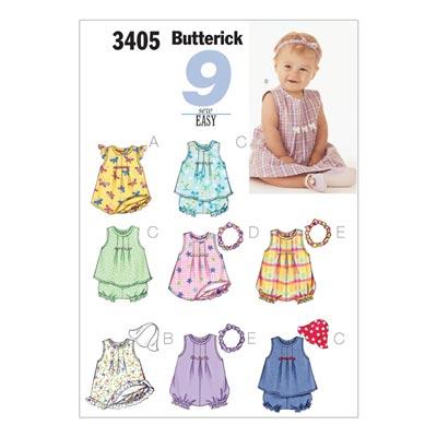 Babykleider, Butterick 3405 | 46 - 71