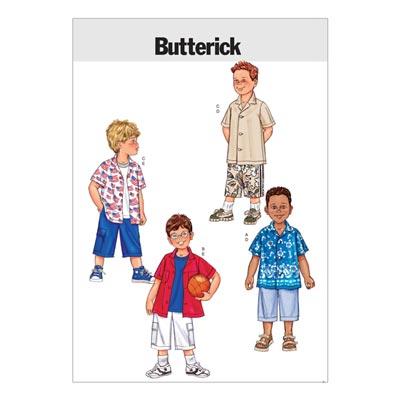Kindershirt / Hose, Butterick 3475 | 122 - 134