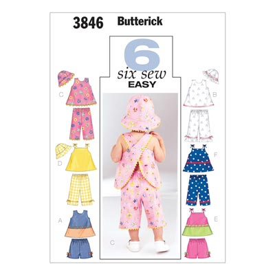 Babytop / Hose, Butterick 3846 | 46 - 71