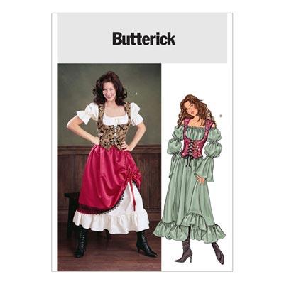 Kostüm, Butterick 3906 | 32 - 36