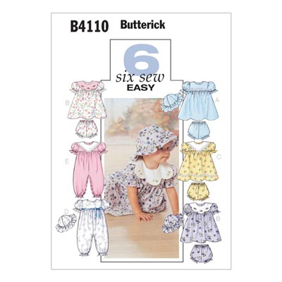 Babykleid, Butterick 4110 | One Size
