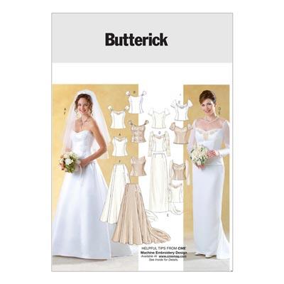 Brautkleid, Butterick 4131 | 32 - 36