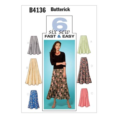 Rock, Butterick 4136 | 34 - 40