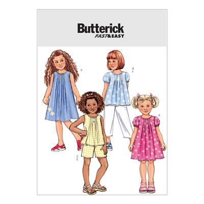 Kinderkleid, Butterick 4176 | 122 - 134