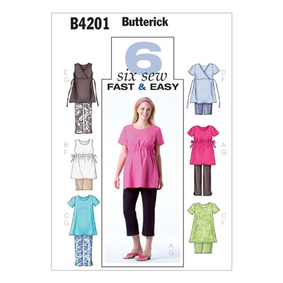 Umstandskleidung, Butterick 4201 | 40 - 44