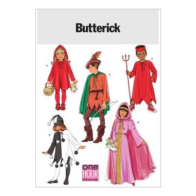 Kinderkostüm, Butterick 4319 | 104 - 156