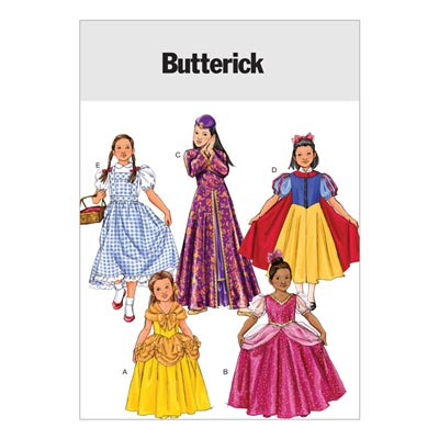 Mädchen / Kinderkostüm, Butterick 4320 | 92 - 116
