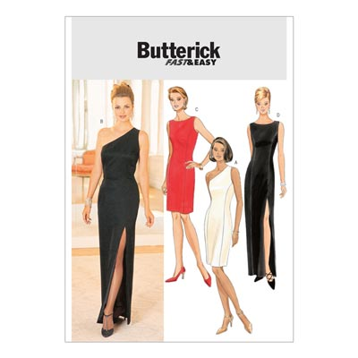 Abendmode, Butterick 4343 | 32 - 38