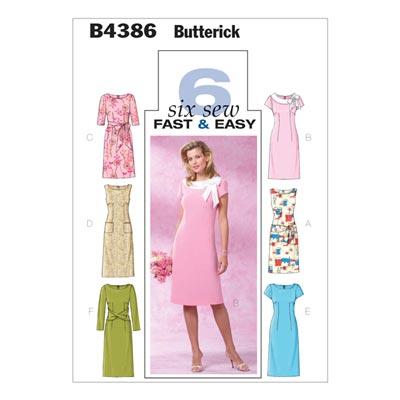 Kleid, BUTTERICK B4386