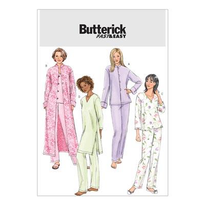 Nachtwäsche, Butterick 4406 | 30 - 38