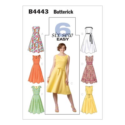 Kleid, Butterick 4443 | 42 - 46