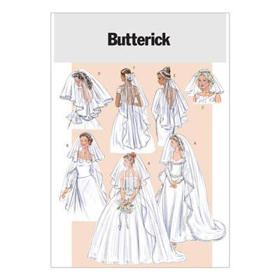 Brautschleier, Butterick 4487 | One Size