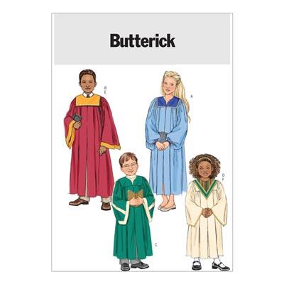 Kinderkostüme, Butterick 4542 | 104 - 122