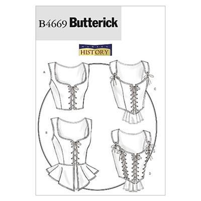 Historisches Kostüm, Butterick 4669 | 32 - 38