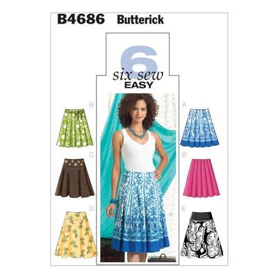 Rock, Butterick 4686 | 32 - 38