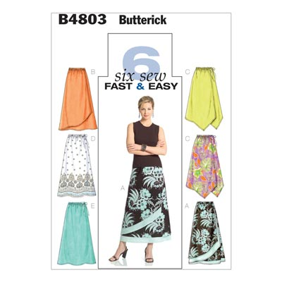 Rock, Butterick 4803 | 34 - 40