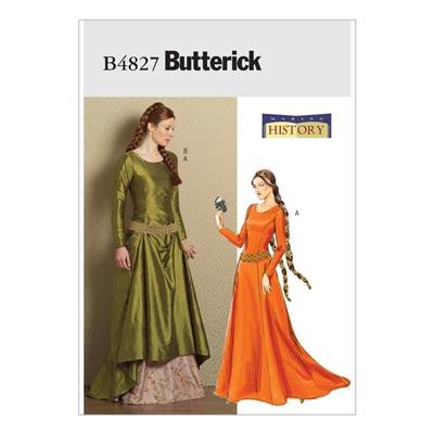 Historisches Kostüm, Butterick 4827 | 32 - 38