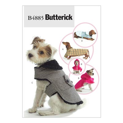 Tiermantel, Butterick 4885 | One Size