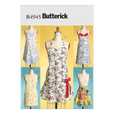 Schürze, Butterick 4945 | One Size