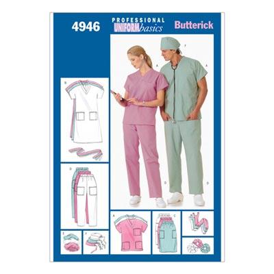 Uniform, Butterick 4946 | 42 - 48
