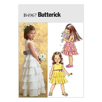 Kinderkleid, Butterick 4967 | 122 - 140
