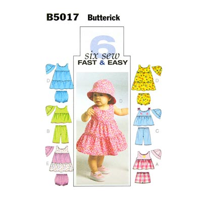 Babykleid, Butterick 5017 | One Size