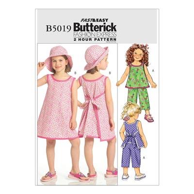 Kinderkleid, Butterick 5019 | 122 - 134