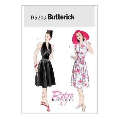 Kleid, Butterick 5209 | 32 - 38