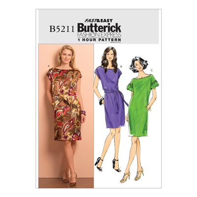 Kleid, Butterick 5211 | 42 - 48