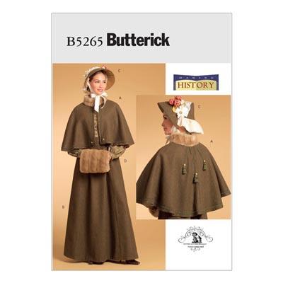 Historisches Kostüm, Butterick 5265 | 32 - 38