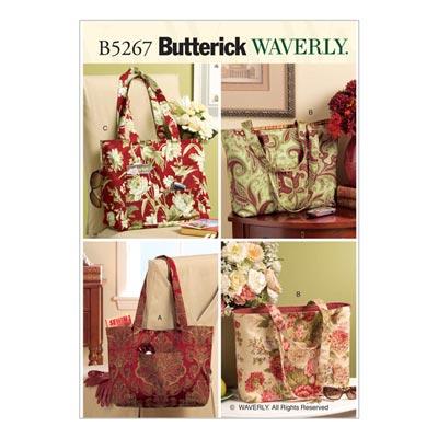 Taschen, Butterick 5267 | One Size