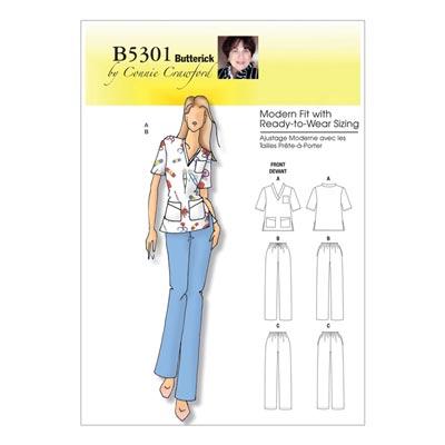 Plus Size - OP-Bekleidung, Butterick 5301 | 50 -