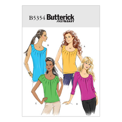 Top / Shirt, BUTTERICK B5354