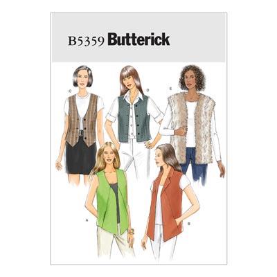 Weste, Butterick 5359 | 32 - 40