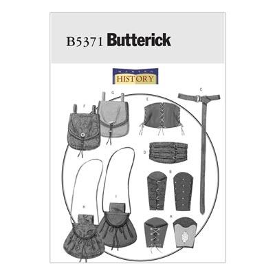 Historische Taschen, Butterick 5371 | 46 - 56
