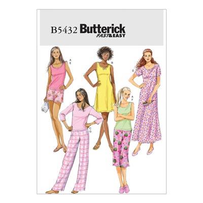 Schlafwäsche, Butterick 5432 | 30 - 40