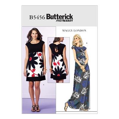Kleid, Butterick 5456 | 34 - 40