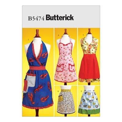 Schürze, Butterick 5474 | One Size