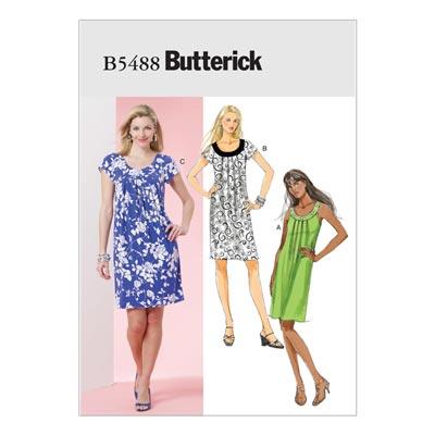 Kleid, Butterick 5488 | 42 - 52