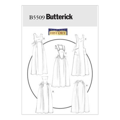Historisches Kostüm, Butterick 5509 | One Size
