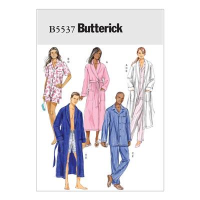 Schlafwäsche, Butterick 5537 | 34 - 44