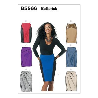 Rock, Butterick 5566 | 40 - 46