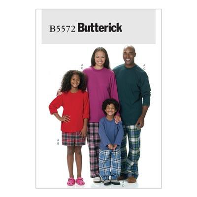 Schlafwäsche, Butterick 5572 | 104 - 146