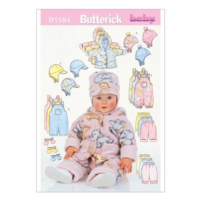 Babyjacke, Butterick 5584 | 44 - 74