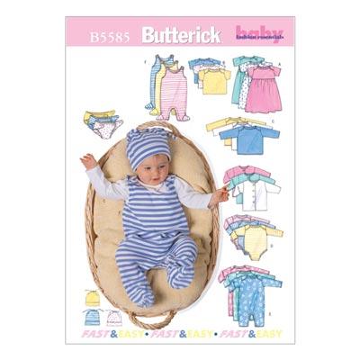 Babyjacke, Butterick 5585 | 71 - 81